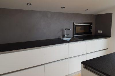Küchenrückwand mit Lamurista Hard Rock